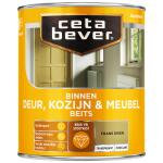 Cetabever Binnenbeits Deur, Kozijn & Meubel transparant zijdeglans, frans eiken - 750 ml