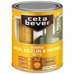 Cetabever Binnenbeits Deur, Kozijn & Meubel transparant zijdeglans, licht eiken - 750 ml