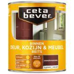 Cetabever Binnenbeits Deur, Kozijn & Meubel transparant zijdeglans, mahonie - 750 ml