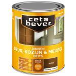 Cetabever Binnenbeits Deur, Kozijn & Meubel transparant zijdeglans, noten - 750 ml