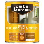 Cetabever Binnenbeits Deur, Kozijn & Meubel transparant zijdeglans, rustiek eiken - 750 ml