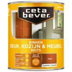 Cetabever Binnenbeits Deur, Kozijn & Meubel transparant zijdeglans, teak - 750 ml