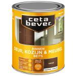 Cetabever Binnenbeits Deur, Kozijn & Meubel transparant zijdeglans, wengé - 750 ml