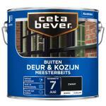 Cetabever Meesterbeits Deur & Kozijn dekkend, zwart - 2,5 l