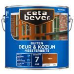 Cetabever Meesterbeits Deur & Kozijn transparant glans, teak - 2,5 l