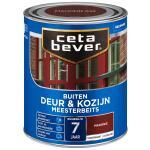 Cetabever Meesterbeits Deur & Kozijn transparant zijdeglans, mahonie - 750 ml