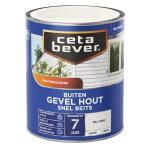 Cetabever Snelbeits Gevel Hout dekkend, ral 9010 - 750 ml