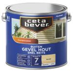 Cetabever Snelbeits Gevel Hout transparant, blank - 2,5 l
