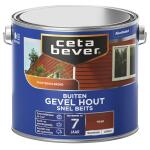 Cetabever Snelbeits Gevel Hout transparant, teak - 2,5 l