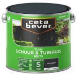 Cetabever Tuinbeits Schuur & Tuinhuis dekkend, antraciet - 2,5 l