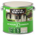 Cetabever Tuinbeits Schuur & Tuinhuis dekkend, steengrijs - 2,5 l