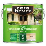 Cetabever Tuinbeits Schuur & Tuinhuis transparant, blank - 2,5 l