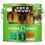 Cetabever Tuinbeits Schuur & Tuinhuis transparant, licht eiken - 2,5 l