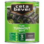 Cetabever Tuinbeits Tuinhout transparant, antraciet - 750 ml