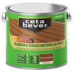 Cetabever Vlonder & Terras Natuurlijk Effect, bankirai - 2,5 l