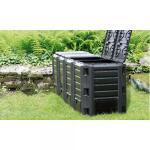 Compostsysteem zwart 1600 liter - 4 vaten