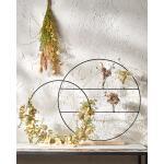 Decoratie cirkel op voet - 55 x 9 cm