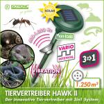 Dierenverjager mobiel  3-in-1 HAWK II POWER