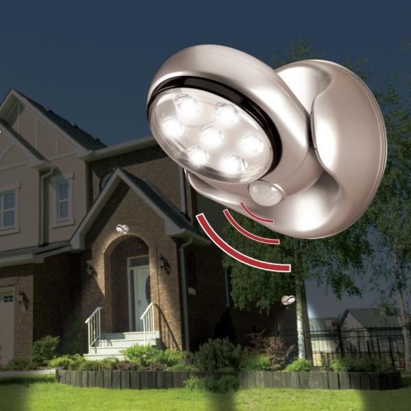 Draadloze led-lamp met bewegingsmelder | Tuinverlichting | Decoratie ...