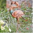 Flamingo - tuindecoratie in metaal