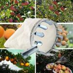 Fruitplukker met opvangzak
