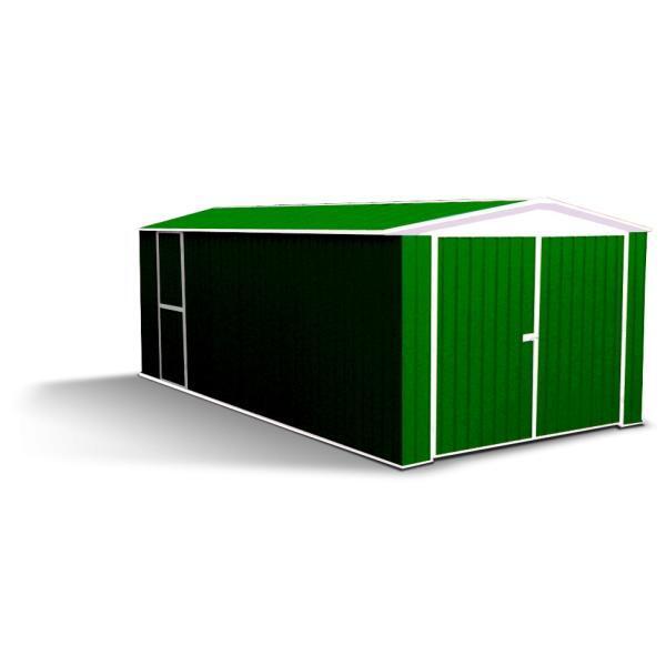 Stalen garagebox kopen - garage in staal aanbieding