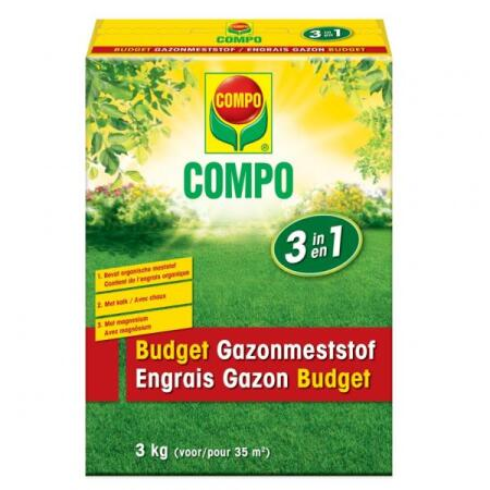 Gazon budget meststof 3 in 1