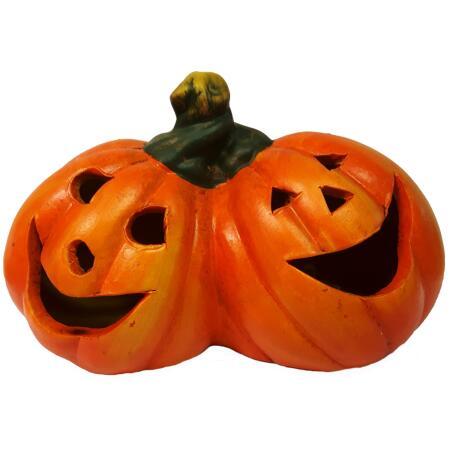 Halloween Pompoen Kopen.Halloween Duo Pompoenen Led
