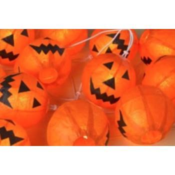 Halloween Verlichting.Halloween Lichslinger Pompoen