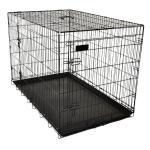 Bench Ebo voor honden - zwart medium
