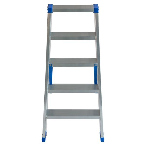 Dubbele trapladder Sparta DUO 5STEP