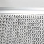 Insectenscherm schakelscherm aluminium - 90 x 200 cm