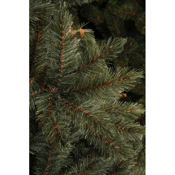 Kerstboom Forest Frosted 155 cm blauwgroen