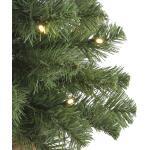 Kerstboom kunststof Norton met verlichting - H60 X Ø23 cm