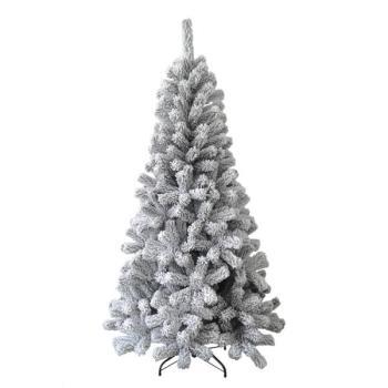 Witte kunststof kerstboom kopen - namaak besneeuwde kerstboom ...
