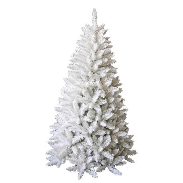 Witte kunststof kerstboom kopen namaak kerstboom wit for Witte kunstof eetkamerstoelen