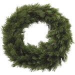 Kerstkrans Forest Frosted Ø 90 cm groen - Triumph Tree