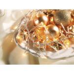 Kerstverlichting basic 40 led transparant met dimmer - 3 m