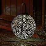 Lantaarn Damascus- solar Ø 22 cm