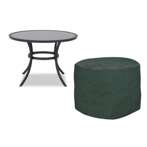 Tuinmeubel beschermhoes voor ronde tafel afdekhoes voor for Afdekhoes tafel