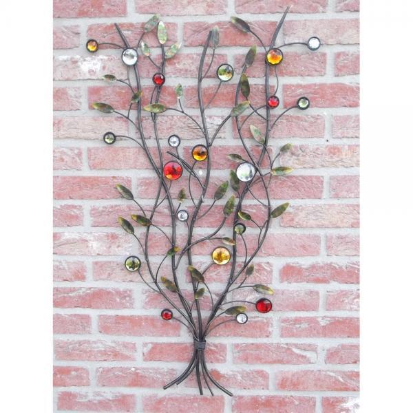 Muurdecoratie boom met parels kopen - decoratie voor aan de muur ...