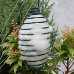 Schapenwol als nestmateriaal