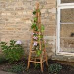 Obelisk in hout - 150 cm