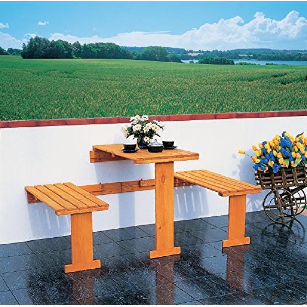 Opklapbare balkonset kopen tafel met bankjes voor de for Opklapbare tafel