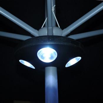 Autonome parasolverlichting kopen - ledverlichting voor parasols ...