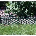 Perkhekje kunststof groen 230 cm