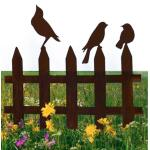 Perkhekje met drie vogels - decoroest
