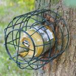 Pindakaaspothouder voor kleine vogels
