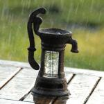 Regenmeter - pluviometer waterpomp
