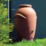 Regenton terracotta - 360 liter
